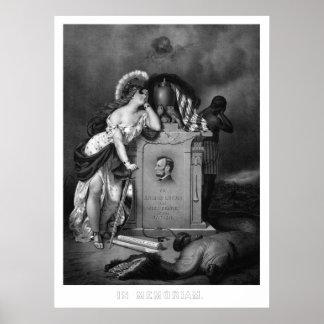 Abraham Lincoln -- En Memoriam Póster