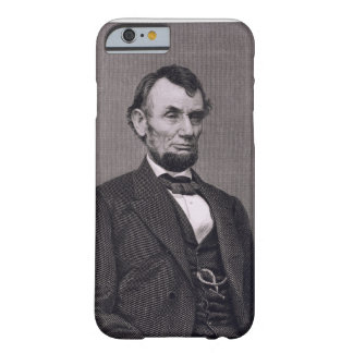 Abraham Lincoln, engraved from a photograph by Wil Barely There iPhone 6 Case