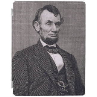Abraham Lincoln, engraved from a photograph by Wil iPad Cover