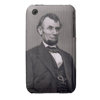 Abraham Lincoln, engraved from a photograph by Wil iPhone 3 Case-Mate Case