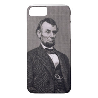 Abraham Lincoln, engraved from a photograph by Wil iPhone 7 Case