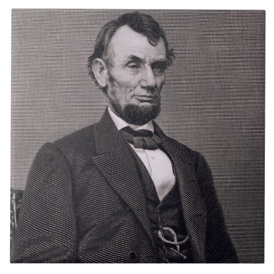 Abraham Lincoln, engraved from a photograph by Wil Tile
