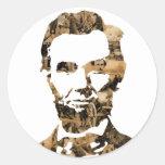 Abraham Lincoln Etiquetas