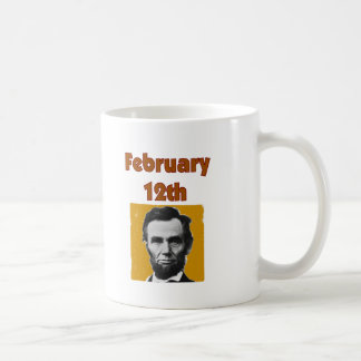 Abraham Lincoln February 12th T-Shirt & Gifts Coffee Mug