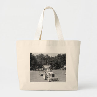 Abraham Lincoln Float, 1923 Large Tote Bag