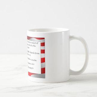 "Abraham Lincoln ""Gettysburg Address"" 1863 Quote Coffee Mug"