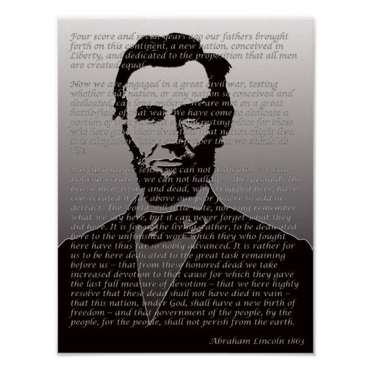 a paper on abraham lincolns gettysburg address Presidential myth #2: abraham lincoln wrote the gettysburg address on the back of an envelope seven score and nine years ago, at the dedication of a military cemetery in gettysburg,  and a one in pencil on plain blue paper no train, no envelopes the back-of-the-envelope story might have endured because it's seen as evidence of.