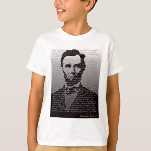 Abraham Lincoln Gettysburg Address T-Shirt