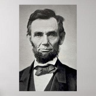 Abraham Lincoln Gettysburg Portrait Poster