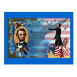 Abraham Lincoln Giving Gettysburg Address Post Card