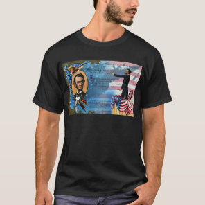 Abraham Lincoln Giving Gettysburg Address T-Shirt