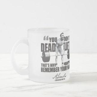 Abraham Lincoln Gym Humor - Deadlift Mugs