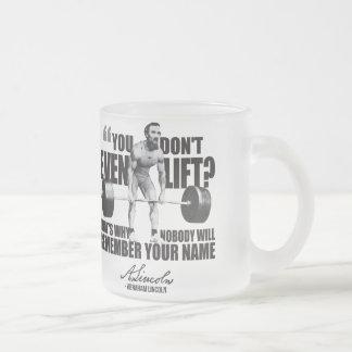 Abraham Lincoln Gym Humor - Do You Even Lift? Mugs