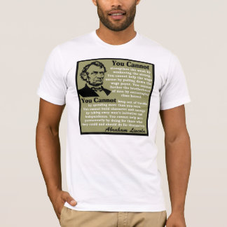 Abraham Lincoln: Help Yourself! T-Shirt