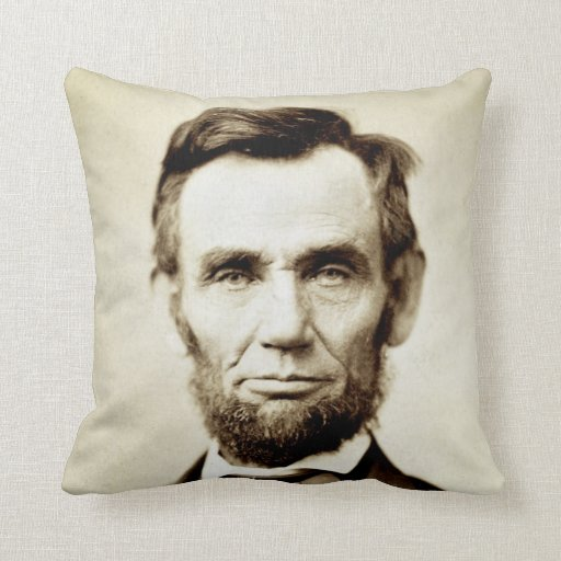 Abraham Lincoln Honest Abe Pillow Zazzle