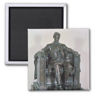 Abraham Lincoln Imán Cuadrado