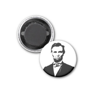 Abraham Lincoln Imán Redondo 3 Cm
