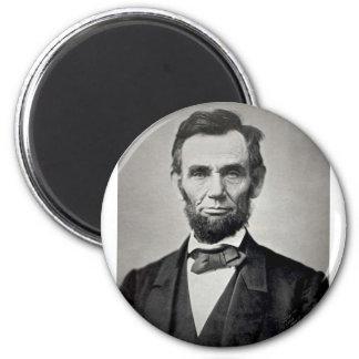 ¡Abraham Lincoln! Imán Redondo 5 Cm