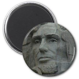 Abraham Lincoln Imán Redondo 5 Cm