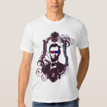 Abraham Lincoln in 3D Glasses T-Shirt