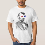 Abraham Lincoln in 3D T-shirt