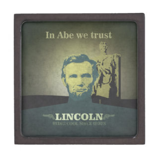 Abraham Lincoln, In Abe we Trust Gift Box