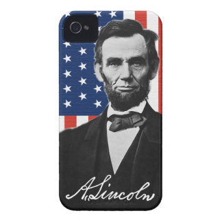 Abraham Lincoln iPhone 4 Barely There Case