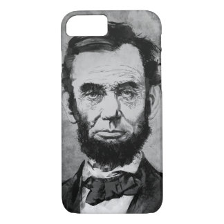 Abraham Lincoln iPhone 7 Case by Matthew Childers