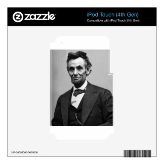 Abraham Lincoln iPod Touch 4G Decal