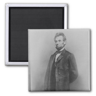 Abraham Lincoln, January 1864 2 Inch Square Magnet