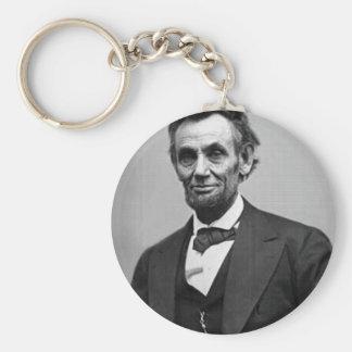 Abraham Lincoln Keychain