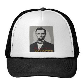 Abraham Lincoln Land Surveyor Trucker Hat