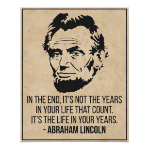Abraham Lincoln Motivational Posters Photo Prints Zazzle
