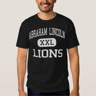 Abraham Lincoln - Lions - High - San Jose T-Shirt