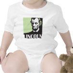 Abraham Lincoln listening to music Baby Bodysuits