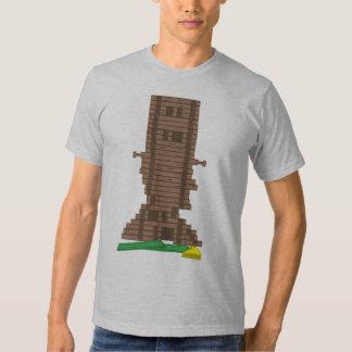 Abraham Lincoln Logs T-Shirt