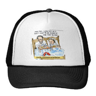 Abraham Lincoln & Mary Todd Breakfast In Bed Trucker Hat