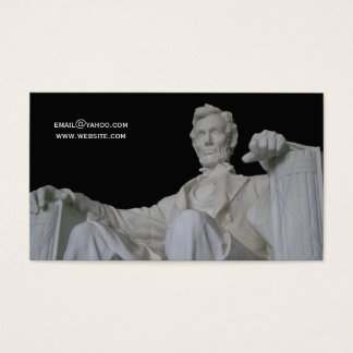 Abraham Lincoln Memorial Business Business Card