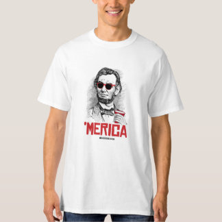Abraham Lincoln 'Merican Party - - Politiclothes H T-Shirt