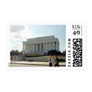 Abraham Lincoln Monument Stamps