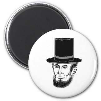 Abraham Lincoln needs your vote 2 Inch Round Magnet