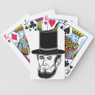 Abraham Lincoln needs your vote Bicycle Playing Cards