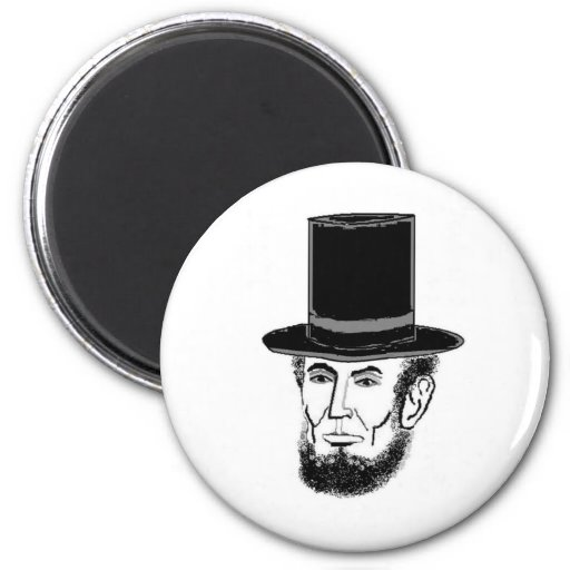 Abraham Lincoln needs your vote Fridge Magnets