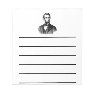 Abraham Lincoln Note Pads