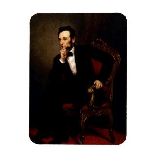 Abraham Lincoln Official Portrait Rectangular Photo Magnet
