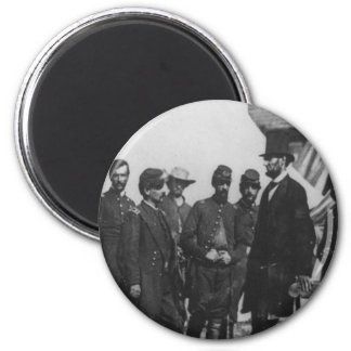 Abraham Lincoln on Battlefield at Antietam Magnets