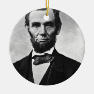 Abraham Lincoln Christmas Ornaments