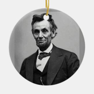 Abraham Lincoln Christmas Tree Ornaments