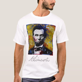 Abraham Lincoln - Painting T-Shirt