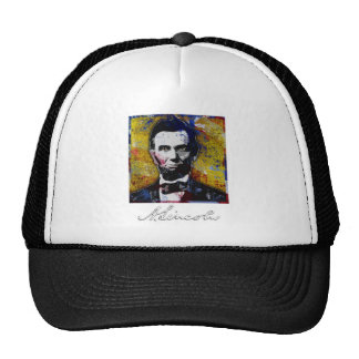 Abraham Lincoln - Painting Trucker Hat